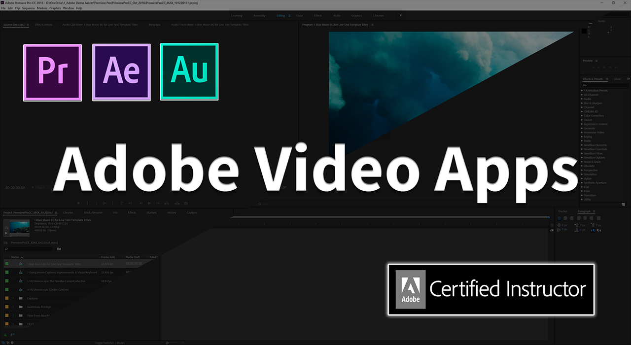 Adobe Video Apps